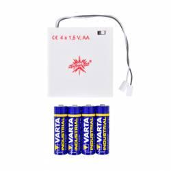 Batteri holder til 13 cm advent stjerne