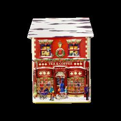 Jule kaffe og te butik kagedåse