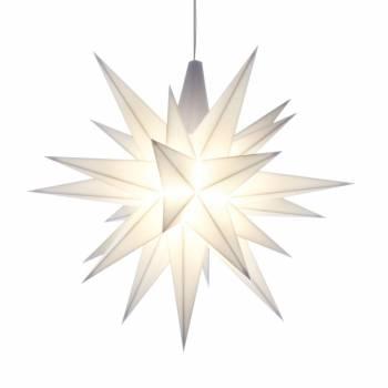 Advent hvid 13 cm Christiansfelder - Herrnhuter stjerne