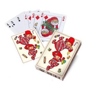 Babynisser med slag i spillekort