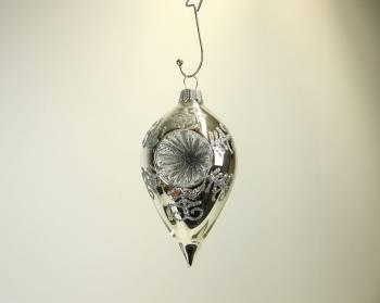 Blank sølv reflektor spids