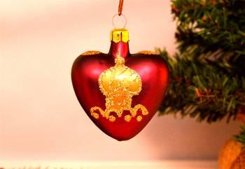 Bordeaux julekugler orientalsk dekoreret