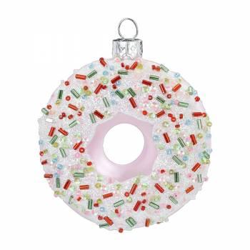 Donuts juletræskugle Ø 10 cm