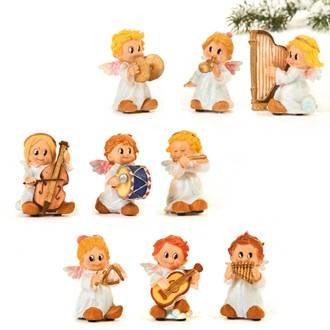 Engle orkester 9 forskellige engle 5 cm