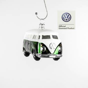 Grøn VW folkevognsbus licens juletræskugle
