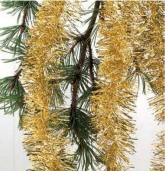 Guirlande guld busket 3 mtr
