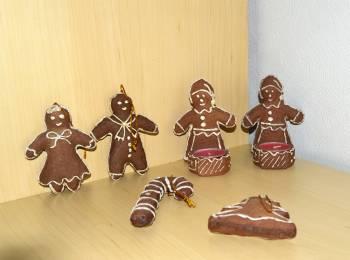 Honning kager julepynt