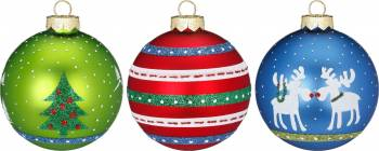 Jule nostalgi juletræskugler Ø 6 cm
