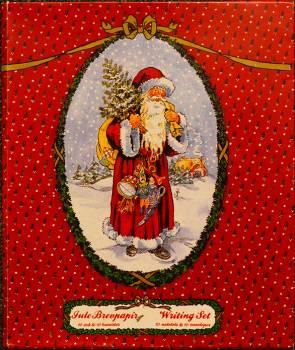 Julemands brevpapir fra Peters jul