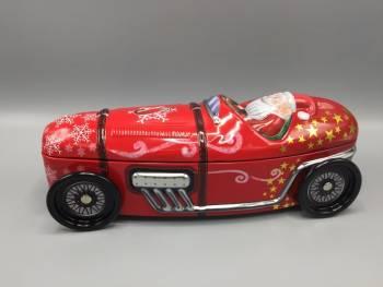 Kage dåse julemands sportvogn metal