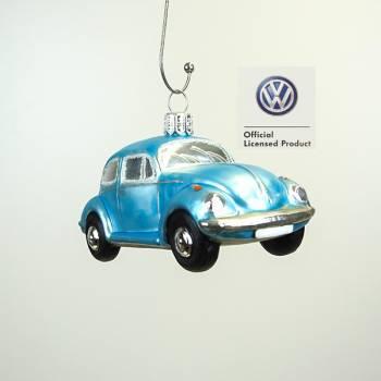 Lyseblå VW folkevogn licens juletræs kugle