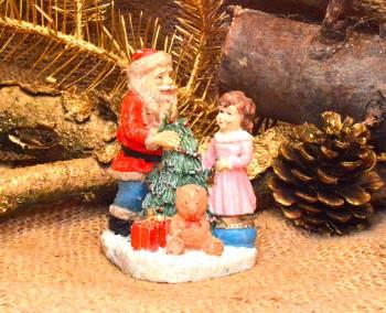 Peter jul serie Julemand med lille pige