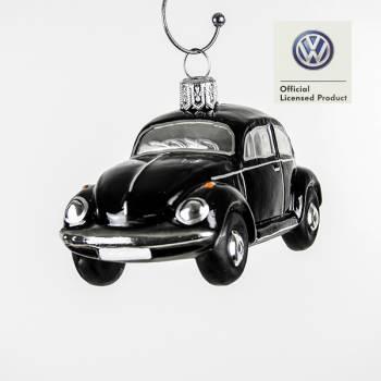 Sort VW folkevogn licens juletræs kugle
