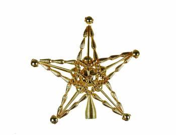 Topstjerne eksklusiv guld gablolzer perler Ø 20 cm