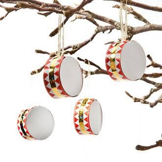 Tromme til juletræ model classic Ø 5 cm