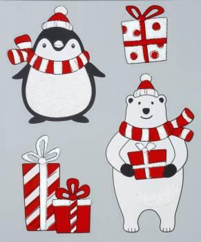 Vindue vinyl stickers pingvin.