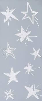 Vindue vinyl stickers stjerner.