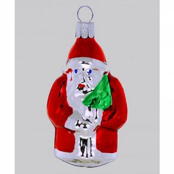 Vintage juletræskugle julemand