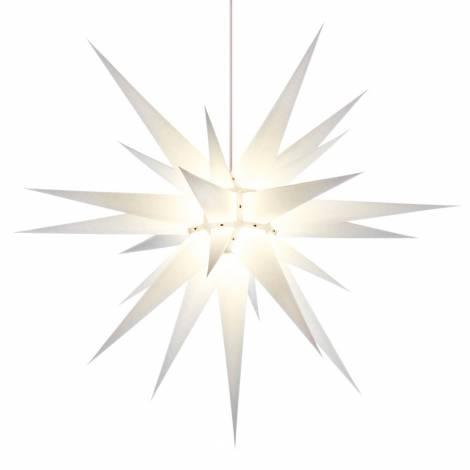 Advent Christiansfelder - Herrnhuter hvid stjerne 80 cm