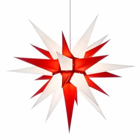 Advent stjerne rød-hvid 60 cm Herrnhuter