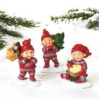 Babynisserne henter julehyggen hjem til huset.