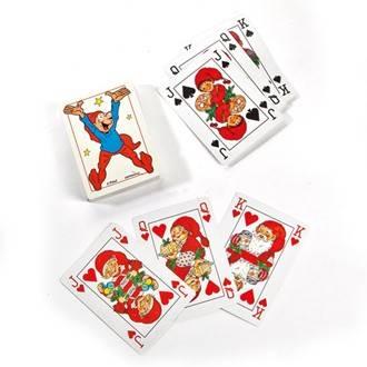Bramming drillenisser med slag i spillekort