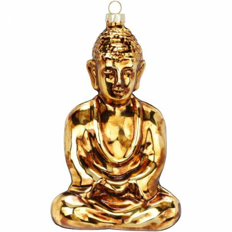 Buddha juletræskugle 16.5 cm