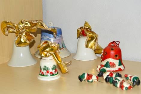 Diverse juleklokker