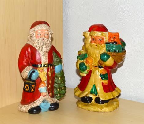 Gamle julemænd julepynt