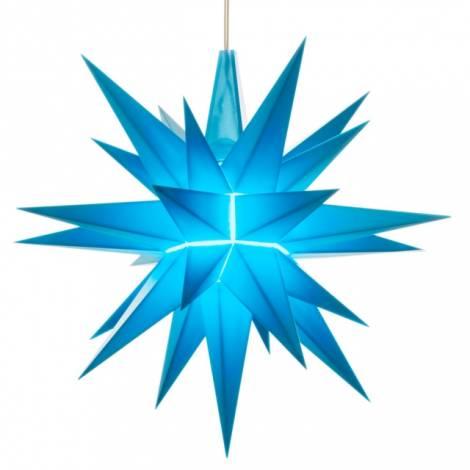 Herrnhuter stjerne blå 13 cm