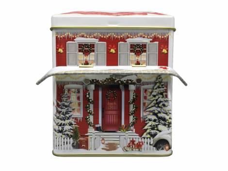 Julehusets kage dåse