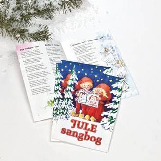 Julens sangbog med salmer og jule engvangeliet