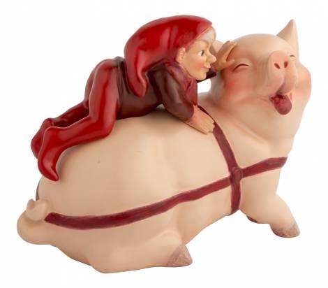 Nissernes jul Nisseper på grisen