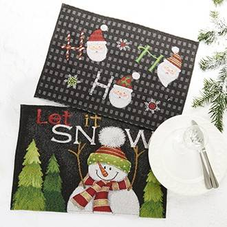 Nu er det jul og cool dække servietter