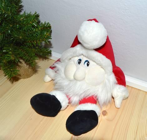 Original Julle plysnisse mini fra lykkehjulets start