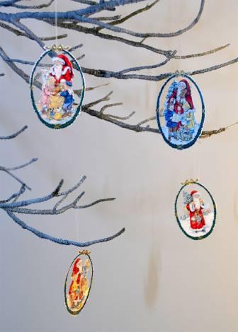Papirklip ophæng fra Peters jul serie