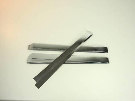 Sølv metal strimler til stjerner 20 mm