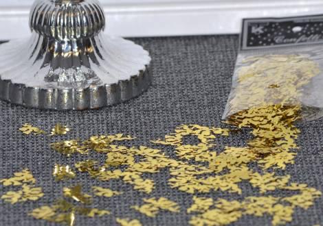 Små guld metal engle fra Torslow.