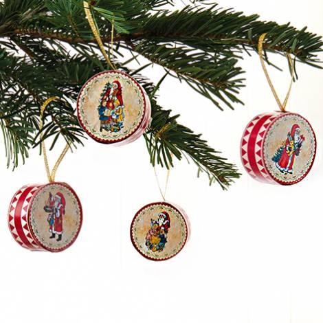 Trommer til juletræet